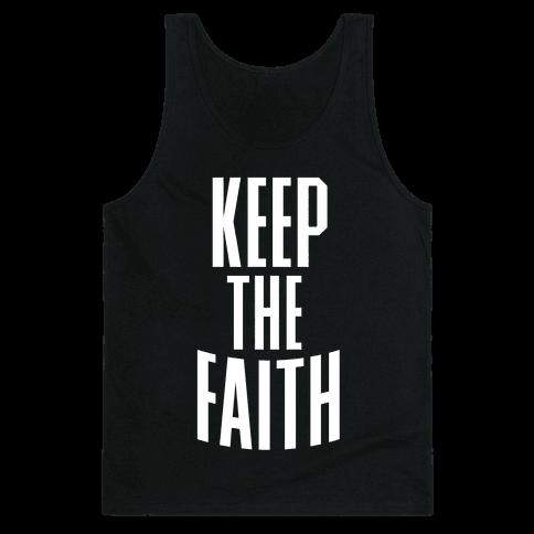 Keep The Faith Tank Top