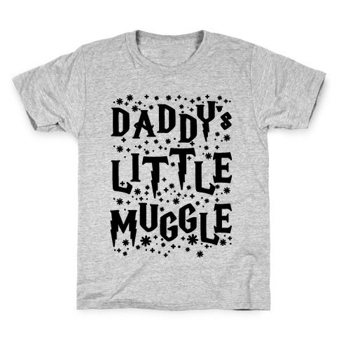Daddy s Little Muggle Kids T-Shirt 075c29562b5