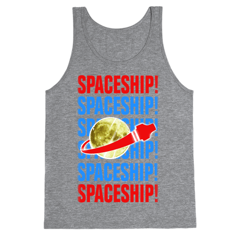 Spaceship! Tank Top