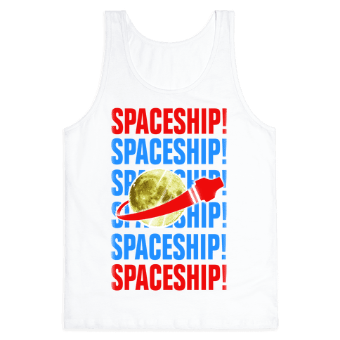 Spaceship! Tank Top