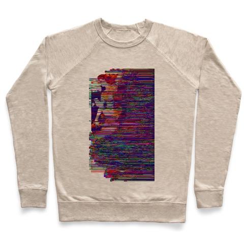 Glitch Art Pinup Pullover