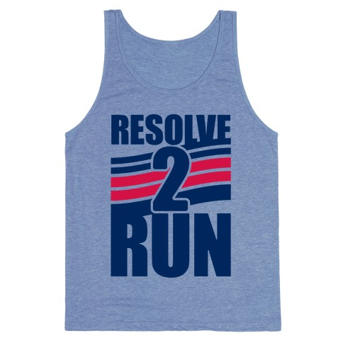 Resolve 2 Run Tank Top