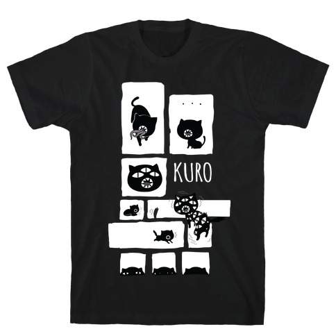 Kuro Cat T-Shirt