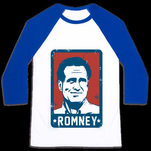 Romney Vintage Baseball Tee