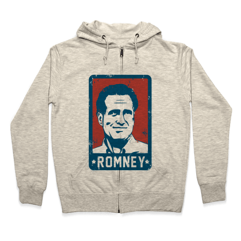 Romney Vintage Zip Hoodie