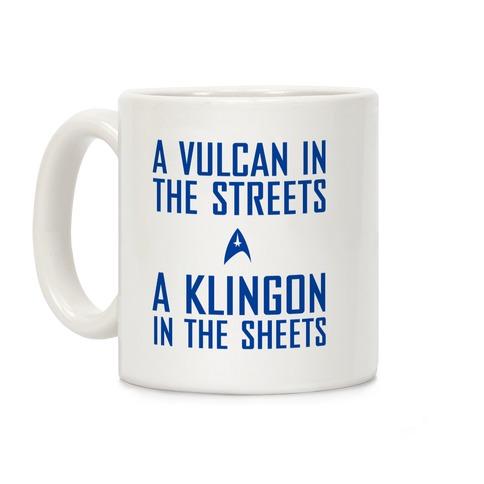 A Vulcan In the Streets Coffee Mug