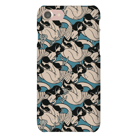 mermaid pattern Phone Case