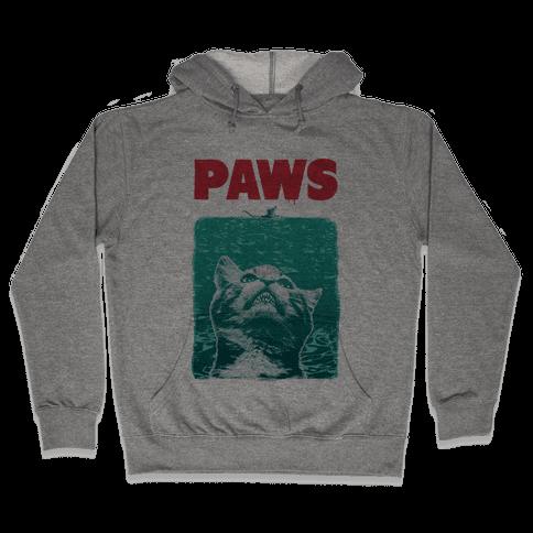 PAWS (Vintage Parody tank) Hooded Sweatshirt