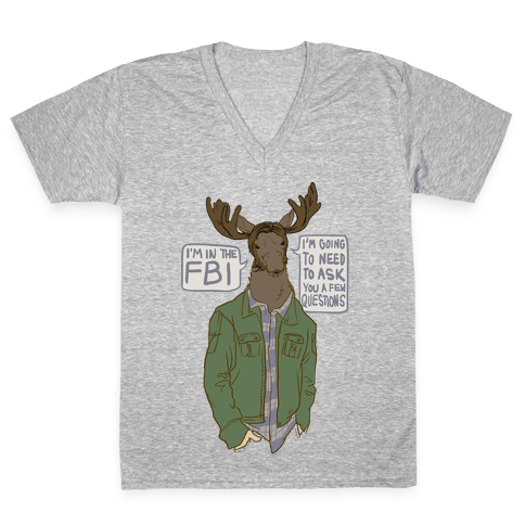 Moose Winchester V-Neck Tee Shirt