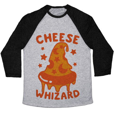 Cheese Whizard Baseball Tee