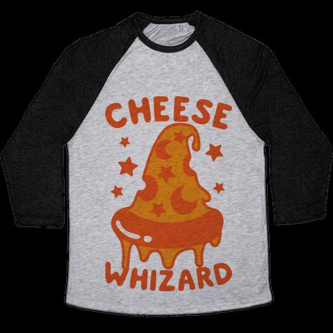 Cheese Whizard Baseball Tee