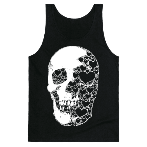 Heart Skull Tank Top
