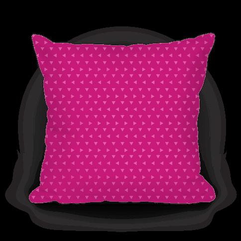 Pink Triangle Pattern