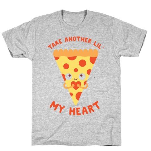 Pizza My Heart Mens T-Shirt