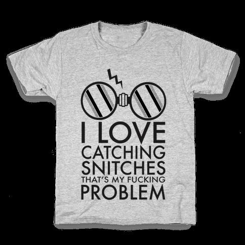 Snitch Catching Kids T-Shirt