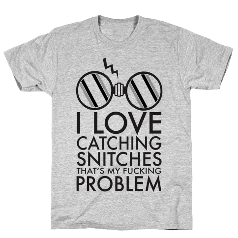 Snitch Catching Mens T-Shirt