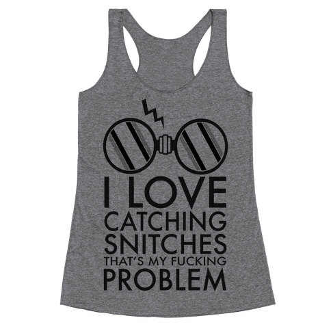 Snitch Catching Racerback Tank Top