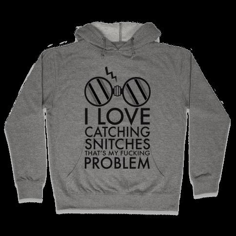 Snitch Catching Hooded Sweatshirt