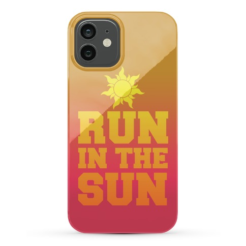 Run In The Sun Phone Case