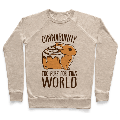 Cinnabunny Too Pure For This World Pullover