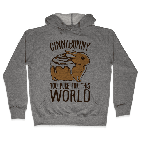 Cinnabunny Too Pure For This World Hooded Sweatshirt