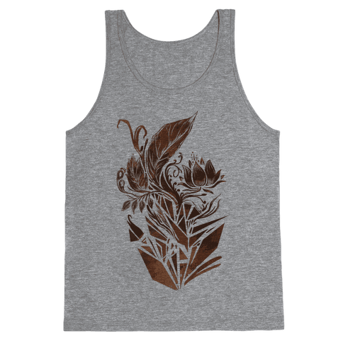 Leaves in Geometry Tank Top