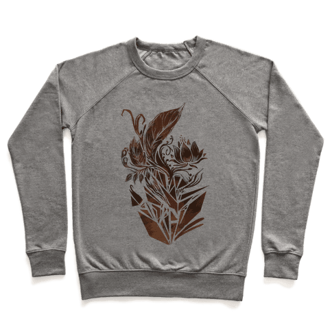 Leaves in Geometry Pullover
