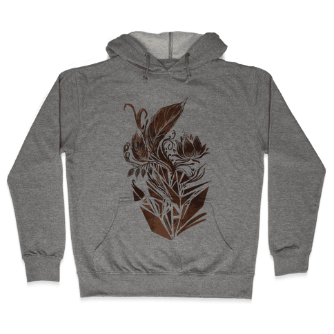 Leaves in Geometry Hooded Sweatshirt