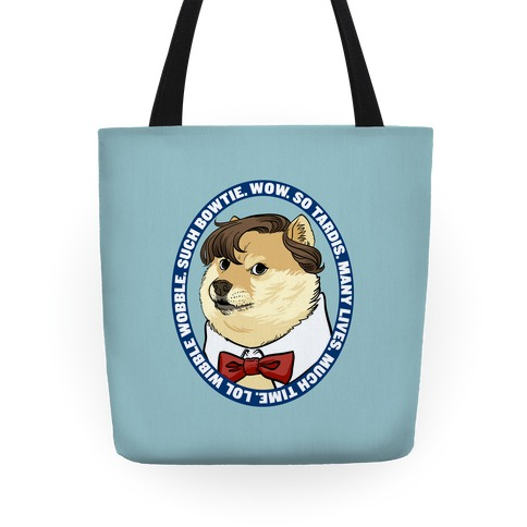 The Doctor Doge Tote