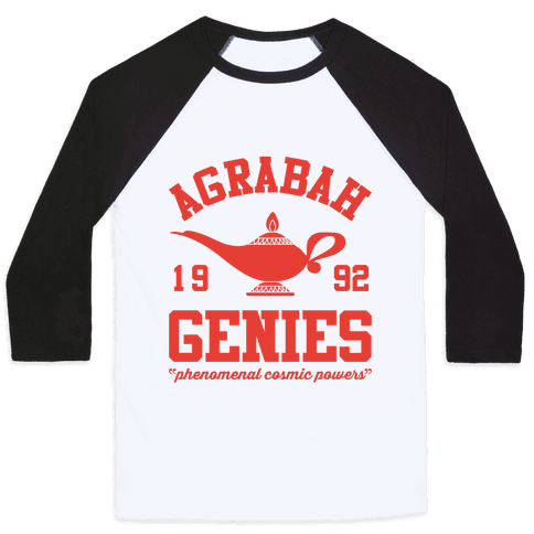 Agrabah Genies Baseball Tee