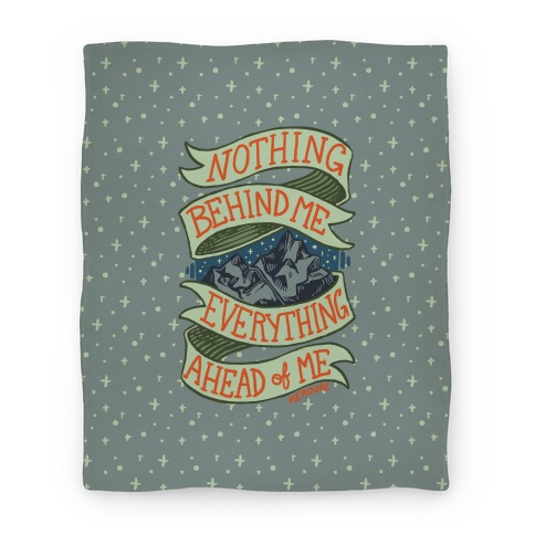 Nothing Behind Me, Everything Ahead Of Me (Kerouac) Blanket