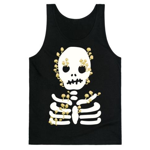 Mushroom Skeleton Tank Top