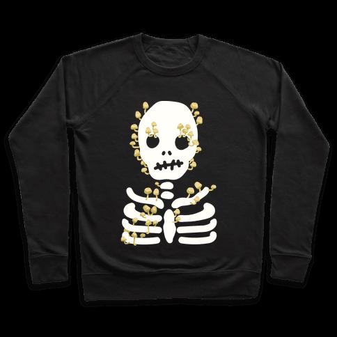 Mushroom Skeleton Pullover