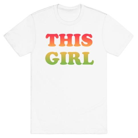 This Girl Loves Her Girl Friend T-Shirt