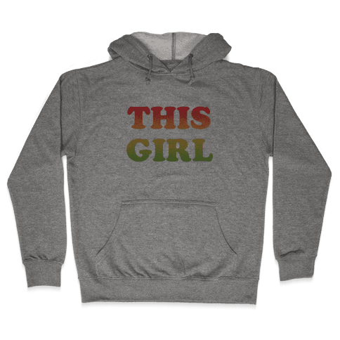 This Girl Loves Her Girl Friend Hooded Sweatshirt