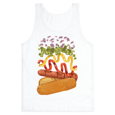 Anatomy Of A Hot Dog Tank Top