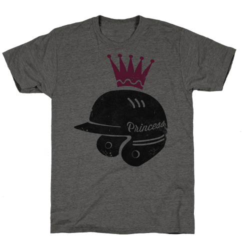 Softball Princess Mens T-Shirt