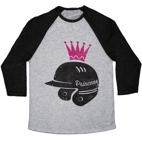 Softball Princess Baseball Tee