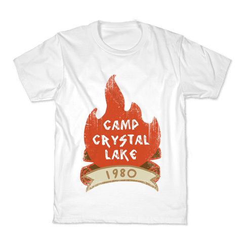 Crystal Lake Summer Camp Kids T-Shirt