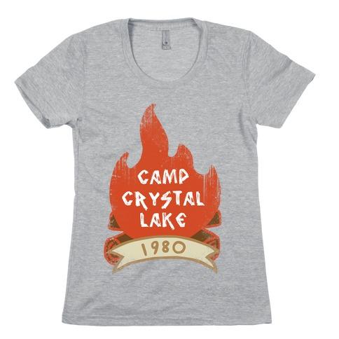 Crystal Lake Summer Camp Womens T-Shirt