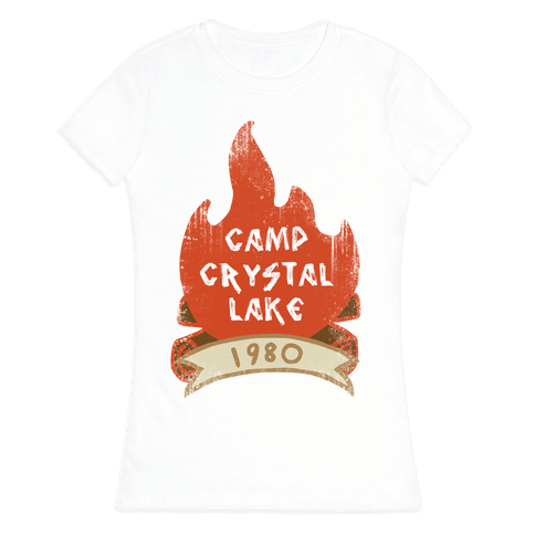 Crystal Lake Summer Camp Womens T-Shirt