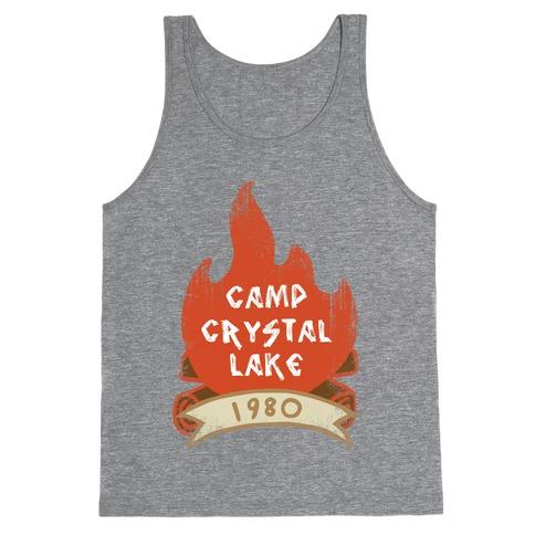 Crystal Lake Summer Camp Tank Top