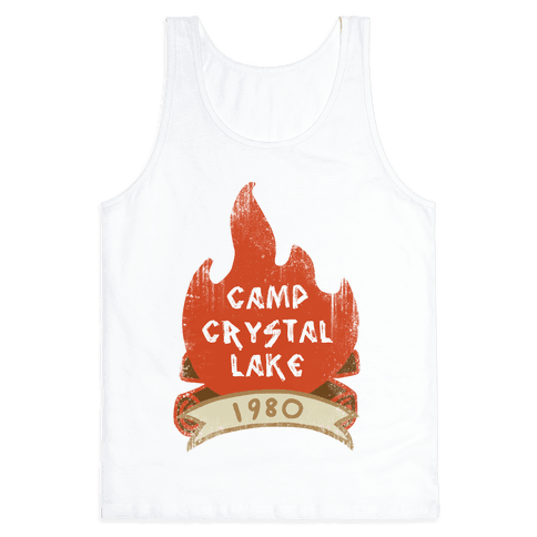 Crystal Lake Summer Camp Tank Top