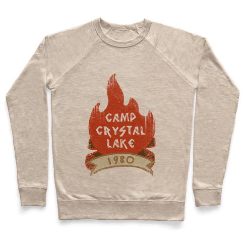 Crystal Lake Summer Camp Pullover