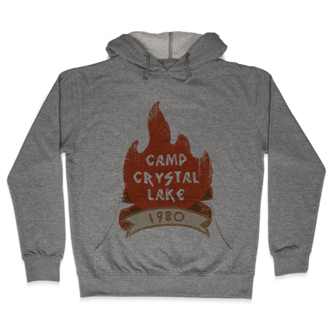 Crystal Lake Summer Camp Hooded Sweatshirt