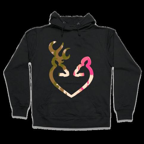 Love Hunting Hooded Sweatshirt