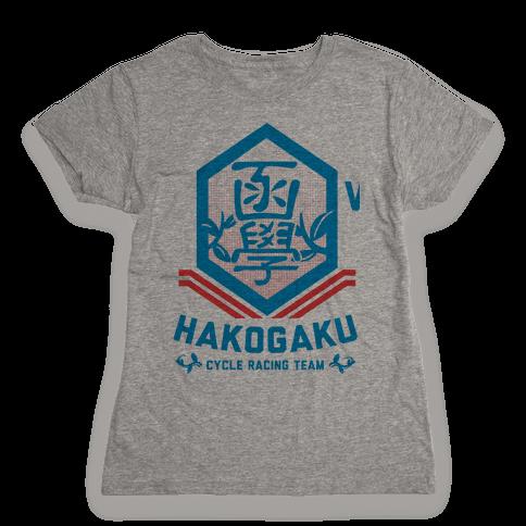 Hakogaku Cycle Racing Team Womens T-Shirt