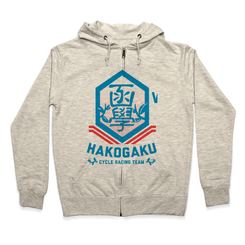 Hakogaku Cycle Racing Team Zip Hoodie