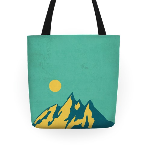 Moon Mountain Tote