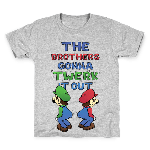 The Brothers Gonna Twerk It Out Kids T-Shirt